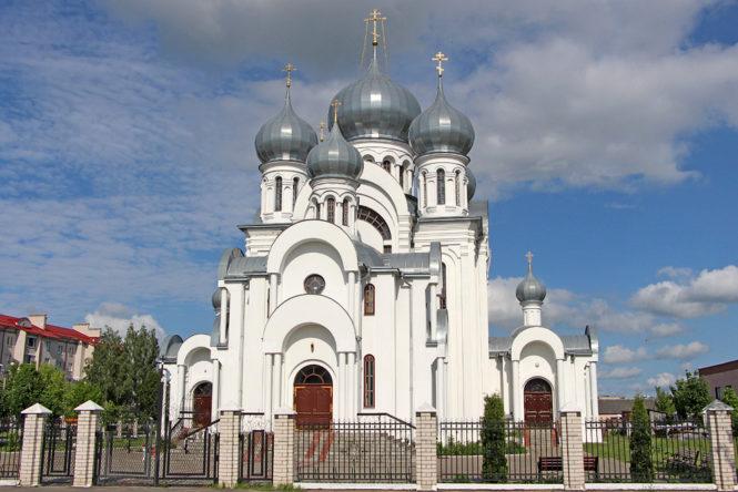 Свято-Тихоновская церковь городе Ганцевичи