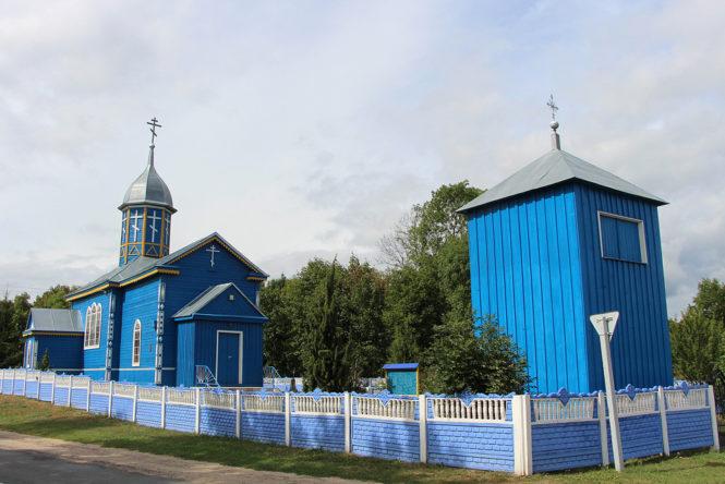 Свято-Георгиевская церковь Больших Круговичах